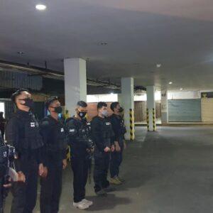 Team Enggang Khatulistiwa Samapta Polres Kota Pontianak Amankan Pemakai Shabu